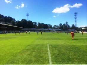 Bath City Partick Thistle pre-season friendly July 2016