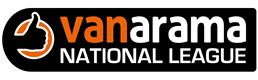 Vanarama National League logo courtesy & copyright Vanarama National League