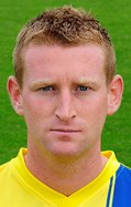 torquay united's towering central defender chris robertson, image copyright pinnacle