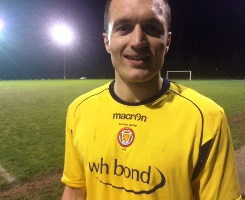 Saltash United striker Sam Hughes image South West Sports News