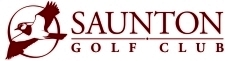 SAUNTON Golf Club new logo