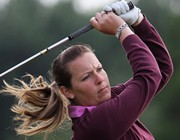 Women's golf professional Laura Hendriksen, image courtesy Matthew Lewis at Getty Images