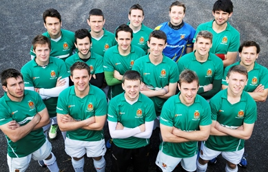 Truro Hockey Club men's first team, courtesy & copyright Tom Haigh