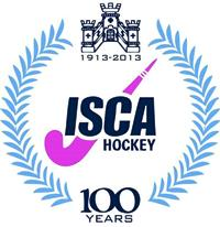 isca hockey 100 years crest