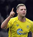 torquay united striker billy kee, courtesy and copyright pinnacle photo agency uk