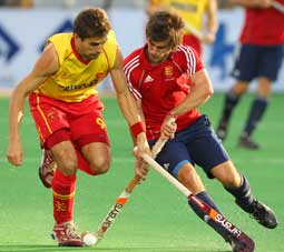 mens hockey action