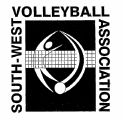 south west volleyball association logo
