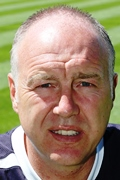 Torquay United boss Gary Owers, photo courtesy & copyright DAVE ROWNTREE