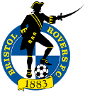 Bristol Rovers Football Club pirate crest/badge 120