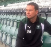 Plymouth Argyle manager Derek Adams looking ahead
