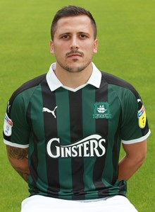 Antoni Sarcevic Plymouth Argyle Football Club courtesy PAFC copyright Dave Rowntree