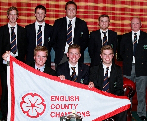 2012 England Golf county finals champions Wiltshire, courtesy & copyright Tom Ward Sport
