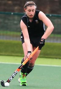 Welsh women's hockey ace Jo Westwood of Swansea Spartans, image courtesy Hockey Wales