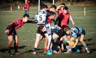 Topsham RFC U18s in action courtesy Topsham RFC