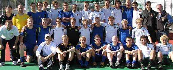 university of exeter firsts and sweden's national hockey team courtesy and copyright lasse eriksson