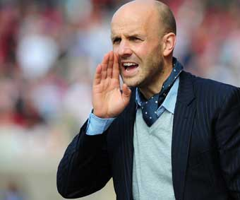 exeter city boss Paul Tisdale, image courtesy and copyright pinnacle photo agency uk