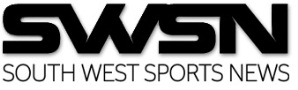 south west sports news black and white logo